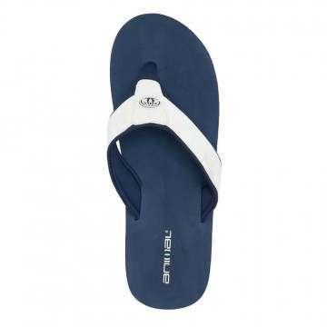Animal Bazil Sandals Indigo Blue