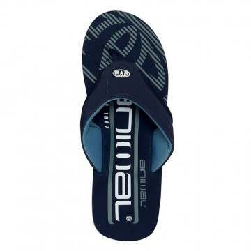 Animal Jekyl Logo Too Sandals Indigo Blue