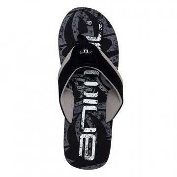 Animal Jekyl Logo Sandals Black
