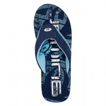 Animal Jekyl Logo Sandals Indigo Blue