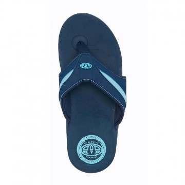 Animal Fader Sandals Indigo Blue