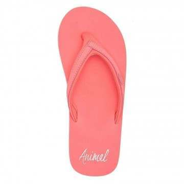 Animal Swish Slim Sandals Rouge Red