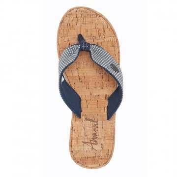 Animal Susie Wedge Sandals Denim Blue