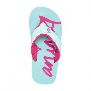 Animal Girls Swish Logo Sandals Misty Green