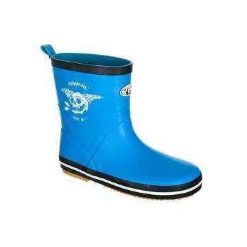 Animal Boys Gloomy Wellington Boots Malibu Blue