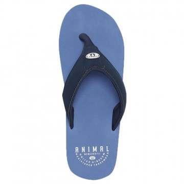 Animal Bazil Sandals Lethal Blue