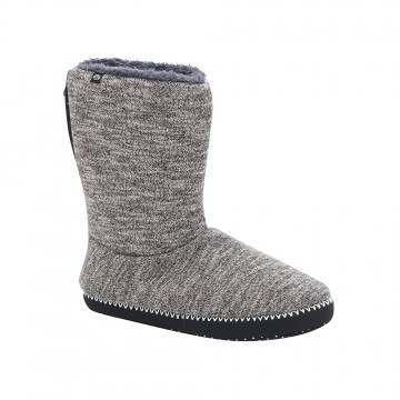 Animal Bollo Slipper Boot Grey Marl