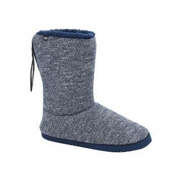 Animal Bollo Slipper Boot Indigo Blue