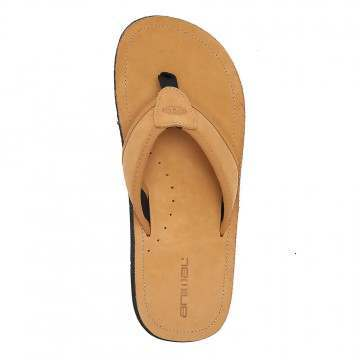 Animal Jekyl Leather Sandals Tan