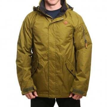 Volcom Padron Ins Snow Jacket Moss