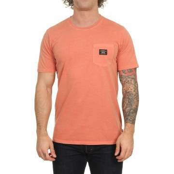 Globe Base Pocket Tee Washed Sunburnt