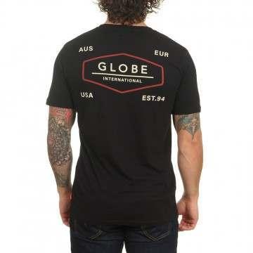 Globe Hemisphere Tee Black