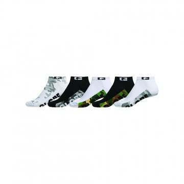 Globe Malcom Ankle Socks 5 Pack Camo