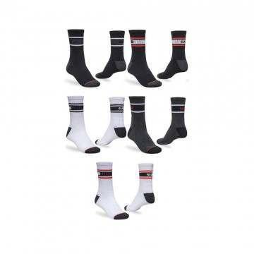 Globe Triple Stripe Crew Socks 5 Pack