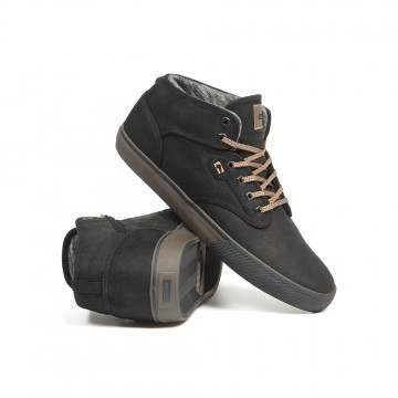 Globe Motley Mid Shoes Black/Brown/Winter
