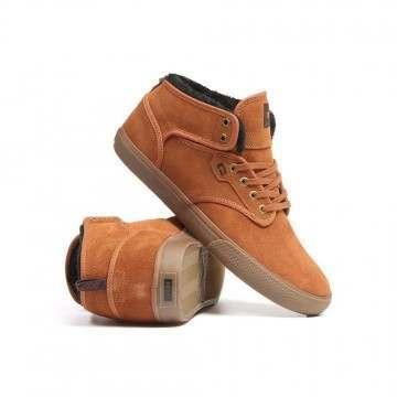 Globe Motley Mid Shoes Hazel/Tobacco/Fur