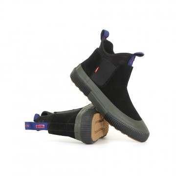 Globe Dover Explr Shoes Black/Olive/Polartec