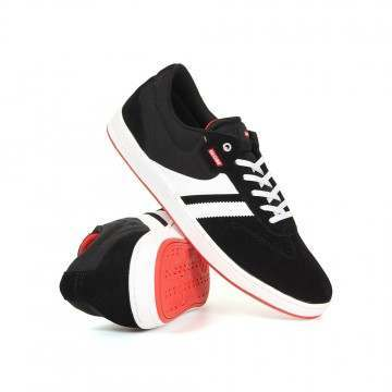 Globe Empire Shoes Black/White/Milou