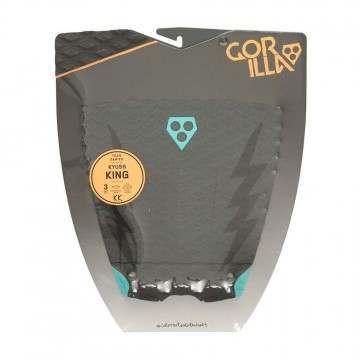 Gorilla Grip Kyuss Grey Bolts Surfboard Deck Pad