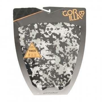 Gorilla Grip Tres Camo Black Surfboard Deck Pad