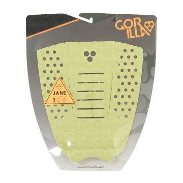 Gorilla The Jane Surfboard Deck Pad Dry Lime