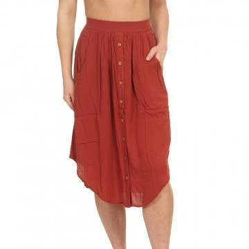 Ripcurl Oasis Muse Skirt Rosewood