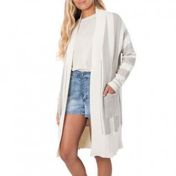Ripcurl The Nomadic Cardigan Off White