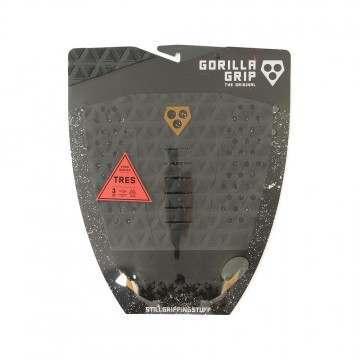 Gorilla Grip Tres Charcoal Mud Surfboard Deck Pad