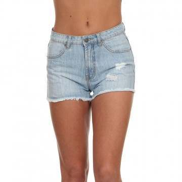 Ripcurl Salt Wash Denim Shorts Blue