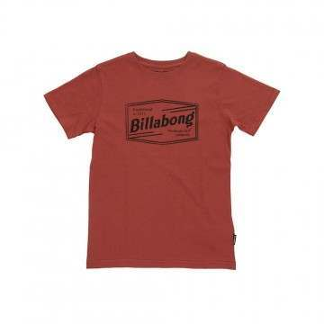 Billabong Boys Labrea Tee Washed Red