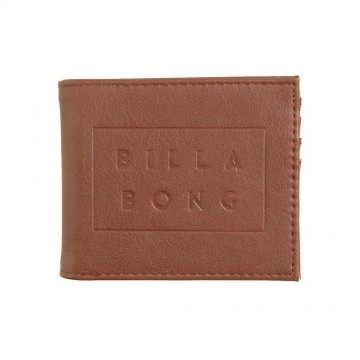 Billabong Die Cut Wallet Tan