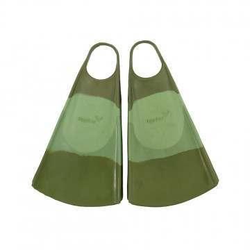 Hydro OG Surf Swim Fins Green/Olive