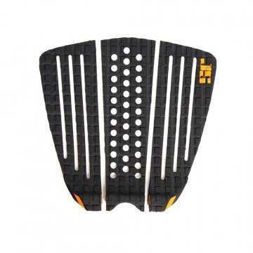JS Phase Surfboard Deck Grip Black/Orange