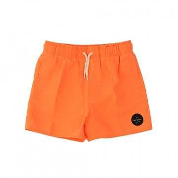 Ripcurl Boys Solid Volley Swim Shorts Orange