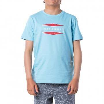 Ripcurl Boys Corpo Tee Blue River