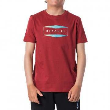 Ripcurl Boys Corpo Tee Red