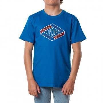 Ripcurl Boys D ams Tee Electric Blue