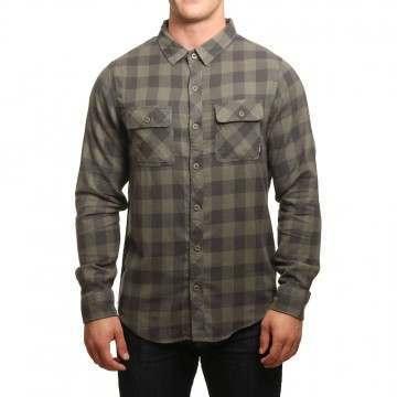 Billabong All Day Flannel Shirt Military