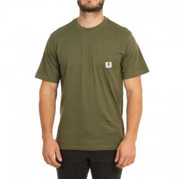 Element Basic Pocket Label Tee Army