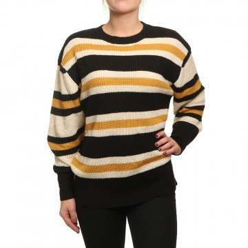 Billabong Late Night Jumper Off Black