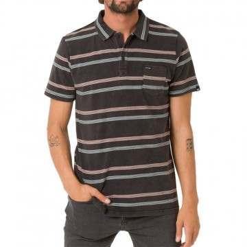 Animal Lyfer Polo Shirt Black