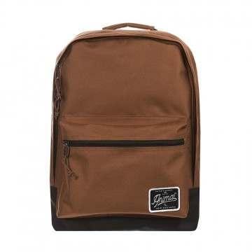 Animal Carve Backpack Golden Brown