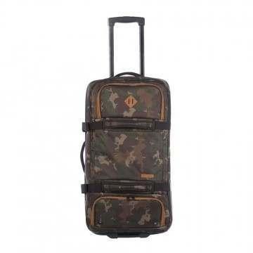Animal Everglade Wheeled Luggage Camo Green