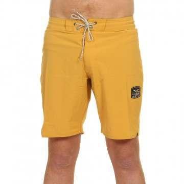 Vissla Solid Sets Boardshorts Golden Hour