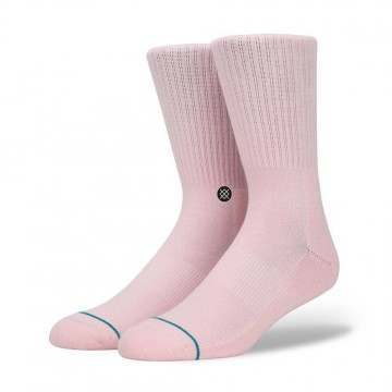Stance Icon Staple Socks Pink