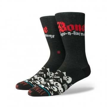 Stance Ruthless Bone Thugs Socks Black