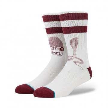 Stance Pope Xmas Socks Natural