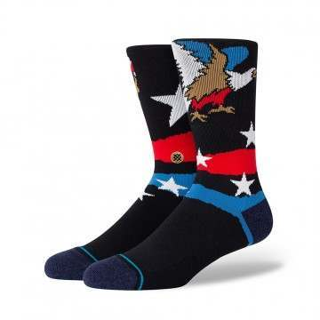 Stance Freedom Strike Socks Black