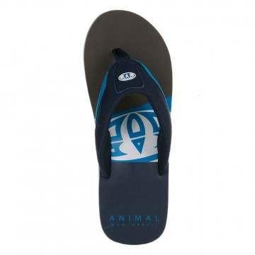 Animal Jekyl Slice Sandals Blue