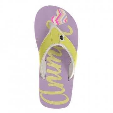Animal Girls Swish Logo Sandals Lilac Purple